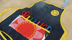DIY Children's : DIY crafts apron for kids