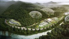 South Korea: the company Samoo is planning on building biodomes in order to help increase the numbers of certain endangered species. This would also provide them with tourism and data about the animals, as there will be observation areas included.