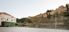 Image 2 of 21 from gallery of Visitor Center of the Roman Theatre of Malaga / Tejedor Linares & asociados. Photograph by Fernando Alda Roman Theatre, Moorish, Mount Rushmore, Spain, Mansions, House Styles, Gallery, Building, Public Spaces