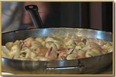 Cooking with Cathy's Recipes: Shrimp and Scallop Pasta Alfredo