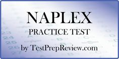 Free NAPLEX Practice Test offered by TestPrepReview. NAPLEX test study aid.