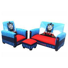 Thomas the Train 3-Piece Toddler Set by Harmony Kids (Toys R Us) for playroom all take the hole set