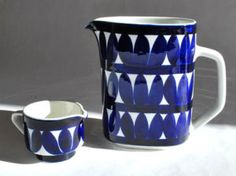 Arabia Finland, Sotka pitchers.-can't afford these but maybe could do a paint-your-own-pottery replica
