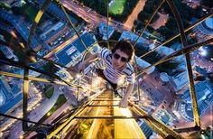 Heart-Racing Photography of Daredevil Skywalkers