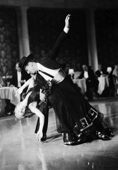 """THE STORY OF VERNON AND IRENE CASTLE"" (1939) FRED ASTAIRE & GINGER ROGERS"