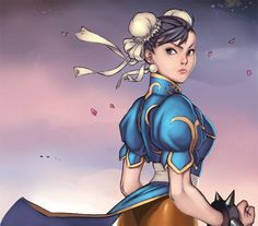 30 Chun Li Illustration Artworks