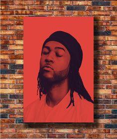 Custom Rain Wiz Khalifa Feat PartyNextDoor Silk Poster Wall Decor