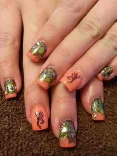 Mossy oak nails browning nails camo nails by desta