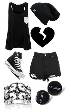 """Darling, You Broke Me"" by themadhatterxox ❤ liked on Polyvore featuring Solid & Striped, Converse and Palm Beach Jewelry"