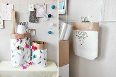 Papierowa torba DIY – wnętrzarski trend