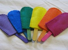 Popsicles color match game