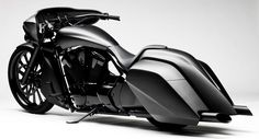 Gotta have at least one bagger - and this is pretty badass - Darth Vader would be proud! 2011 Honda Stateline Slammer