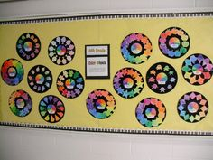 color wheel art project and shapes - Google Search
