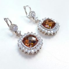 Smoky Topaz, Sterling Silver. Collectible Treasures at Westfield Fashion Square