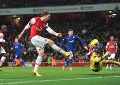 Arsenal 2 Cardiff City 0 - Nicky B with our late first goal.