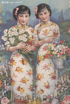 【图】老上海旗袍美女图赏。- 美丽说