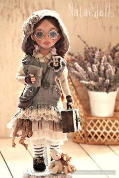 Слиль Бохо в кукольном мире. / Интересненькое / Бэйбики. Куклы фото. Одежда для кукол Raggy Dolls, Felt Dolls, Bjd Dolls, Doll Toys, Disney Animator Doll, Voodoo Dolls, Paperclay, Collector Dolls, Cute Dolls