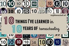 Do you long to learn from an experienced homeschooling mom? Hannah has gone from homeschooling littles to older kids & shares what a decade has taught her.