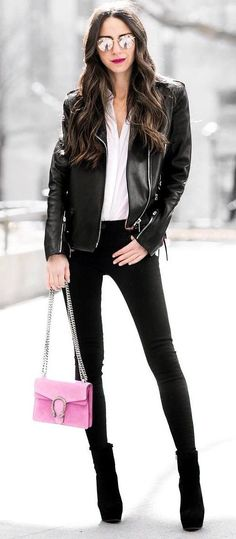 Cute street style outfit idea