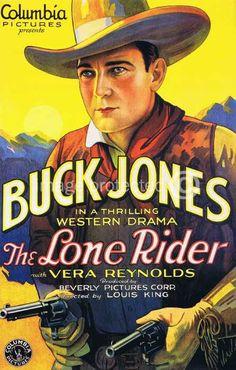 buck jones movie poster belgian | Details about The Lone Rider Buck Jones Vintage Movie Poster -24x36