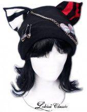 Rocky Punk Meow Mii Fleece Hat