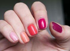 Easiest Gradient Nail Trick :D
