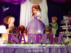 Decoración Princesa Sofia