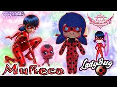 ♥ Tutorial: Muñeca de Miraculous LadyBug || LadyBug's Doll ♥ - YouTube