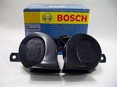 Bosch Compact Plus - 2 dual tone fanfare Car Horns Car Horn, Car Audio, Horns, Compact, Speakers, Accessories, Horn, Antlers, Loudspeaker