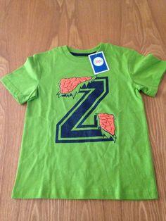 short sleeve shirt zombie green XS 4/5 #Circo