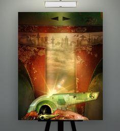 Star Wars Inspired Boba Fett / Slave 1 East Platform by Herofied