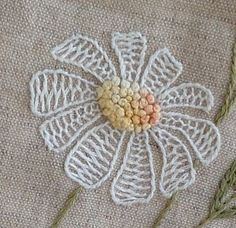 Wonderful Ribbon Embroidery Flowers by Hand Ideas. Enchanting Ribbon Embroidery Flowers by Hand Ideas. Hand Embroidery Tutorial, Simple Embroidery, Embroidery Transfers, Japanese Embroidery, Hand Embroidery Stitches, Silk Ribbon Embroidery, Hand Embroidery Designs, Vintage Embroidery, Embroidery Techniques