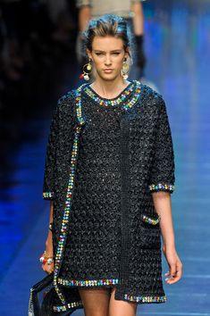 Dolce & Gabbana at Milan Spring 2012