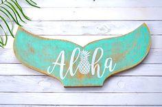 Aloha Mermaid Tail Handmade in Hawaii Up-Cycled by AlohaArtisans