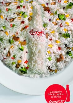 #coke #letseattogether #ad Rice, Meals, Prints, Meal, Yemek, Laughter, Jim Rice, Food, Nutrition