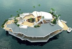 3 million pounds. Such a deal for your own floating island.