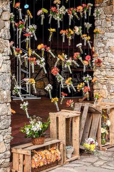 Casamento Rústico DIY de Cecília e Pedro