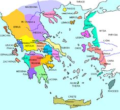 Ancient Greece - City-States and Ethnic Groups