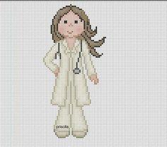 Point de croix *m@* Cross stitch DOCTORA