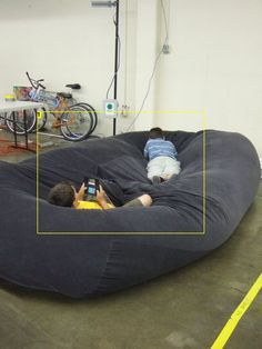 Step by step Instructions..how to make giant bean bag sofas/beds.