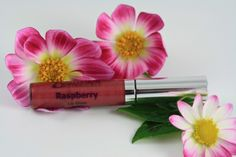 Raspberry Lip Gloss. Raspberry is a deep pink with warm undertones. This shade is NOT Vegan due to Carmine in the pigment. Matches our Raspberry Lip & Cheek Tint, Lip Pencil, and Lipstick. $16 #ecofriendly #organic #handmade #makeup #beauty #crueltyfree