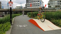 'Whoopdeedoo' bike ramp aims to make cycling more fun in Vancouver, come on #copenhagen grab this Idea