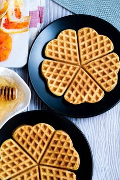 The Best Norwegian Waffle Recipe! This heart shaped waffle makes a delicious breakfast. You'll love these easy to make thin waffles from Norway. Heart Shaped Waffle Recipe, Waffle Recipes, Brunch Recipes, Sweet Recipes, Breakfast Recipes, Brunch Ideas, Breakfast Desayunos, Breakfast For A Crowd, Waffles