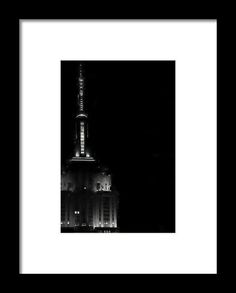 Empire En Noire Framed Print By Alice Gipson
