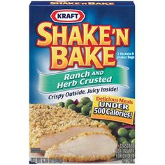 I'm learning all about Shake 'n Bake at @Influenster!