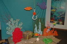 VBS 2012, Amazing Wonders, Great Barrier Reef (Crafts Room Decorating)