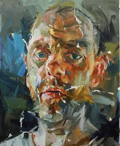 As I am now, self portrait of Paul Wright