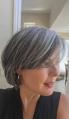 Gray Hairstyles Fair Twenty Months Without Hair Dye  Growing Out My Gray Hair