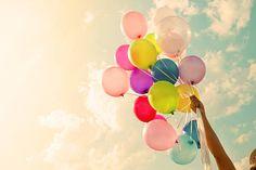 Colorful balloon stok fotoğrafı