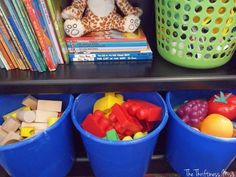The Thriftiness Miss: Toddler Toy Organization